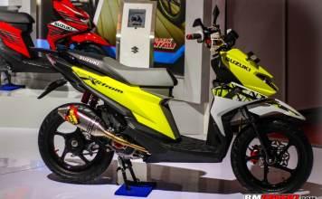 Modifikasi Suzuki Nex II