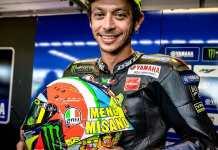Helm AGV Pista Rossi MotoGP Misano 2019