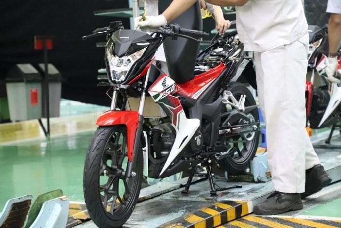 Warna Baru Honda Sonic 150R 2020