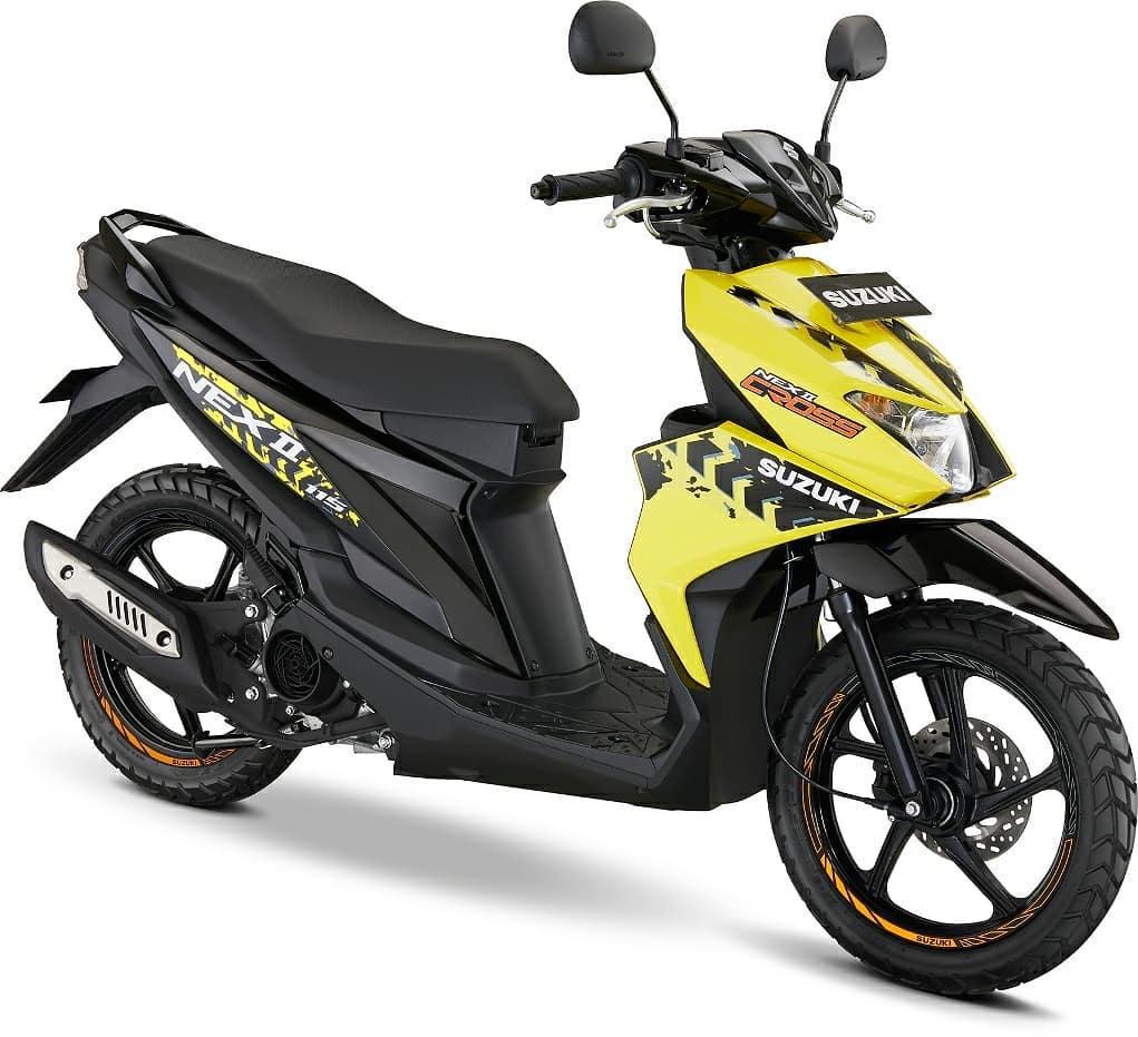 Suzuki Nex II Accessories Version Kuning