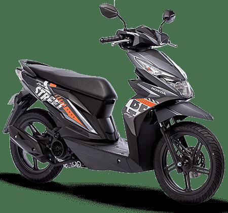 Honda BeAT 2019 Filipina Street STD Grey