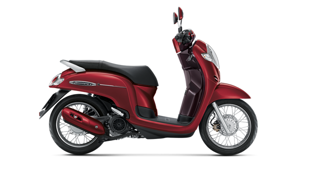 Honda Scoopy 2020 Red