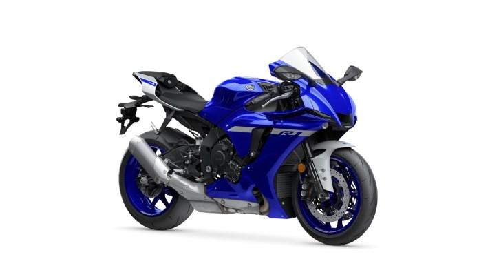 Warna Baru Yamaha R1 2020 Biru