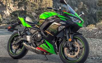 Kawasaki New Ninja 650 2020 Green KRT