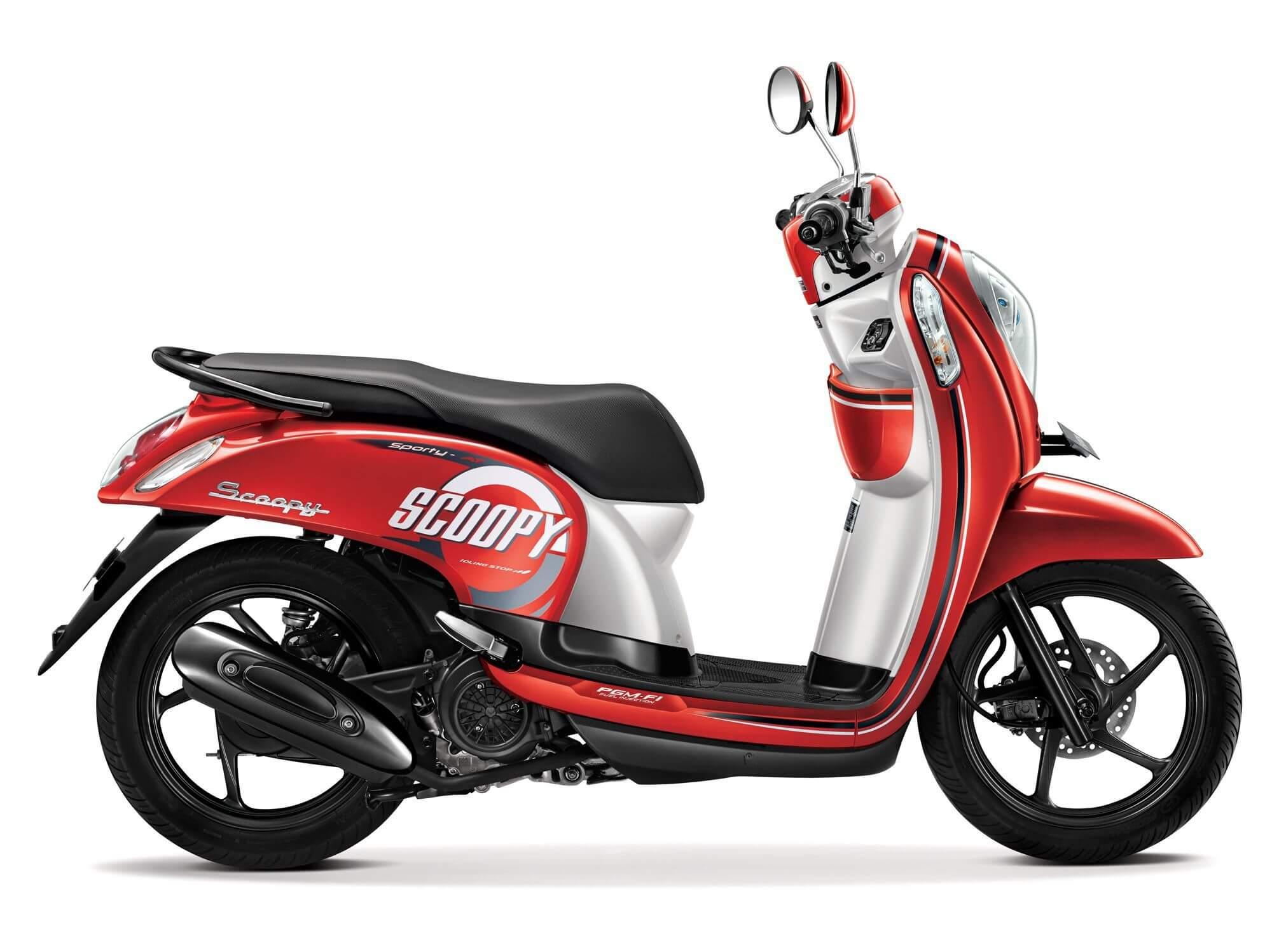 Kenali 4 Generasi Honda Scoopy Dari Masa Ke Masa BMSPEED7