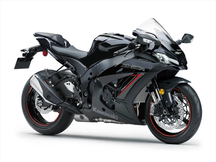 Kawasaki ZX10R 2020 Black Metallic