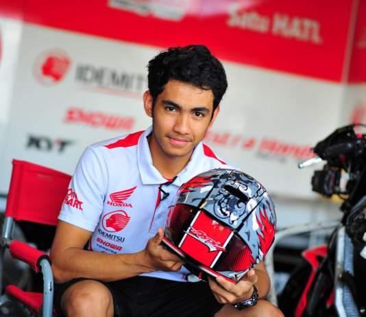 Andi Gilang Moto2 Honda Team Asia