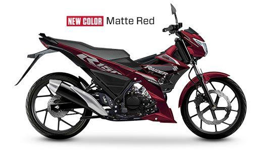 Suzuki Raider 150 FI Matte Red