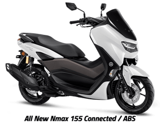 Yamaha Nmax Indonesia White Metallic