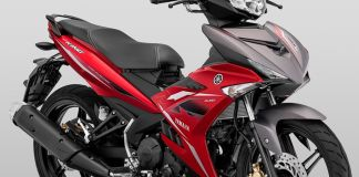 Yamaha MX King 2020 Merah Doff