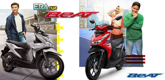 Warna All New Honda BeAT 2020