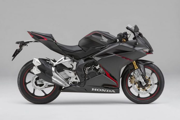 Honda CBR250RR 2019 Matte Black