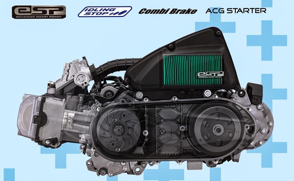 Mesin Honda BeAT 2020