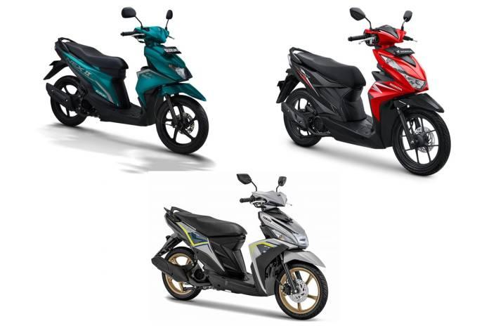 Harga Honda BeAT, Mio M3 dan Nex II