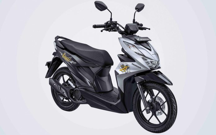 Warna BeAT Street 2020 Silver Black