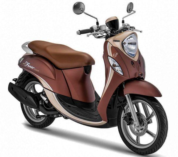 Yamaha Fino 2020 Coklat
