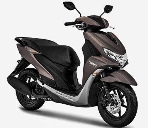 Warna Baru Yamaha FreeGo 2020 Matte Grey