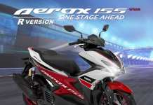 Yamaha Aerox 155 R Version Racing White