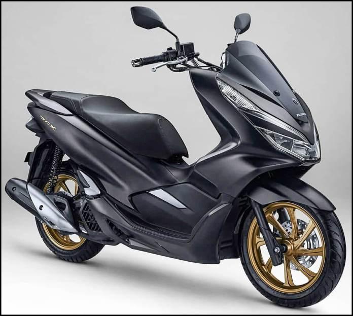Honda PCX 150 Matte Black