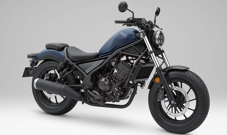 Honda Rebel 250 Matte Blue
