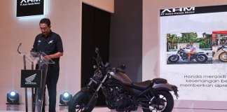 Launching Honda Rebel 500 2020