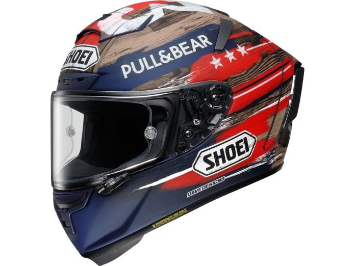 Shoei X14 Marquez America