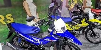 Suzuki Raider J Crossover Biru