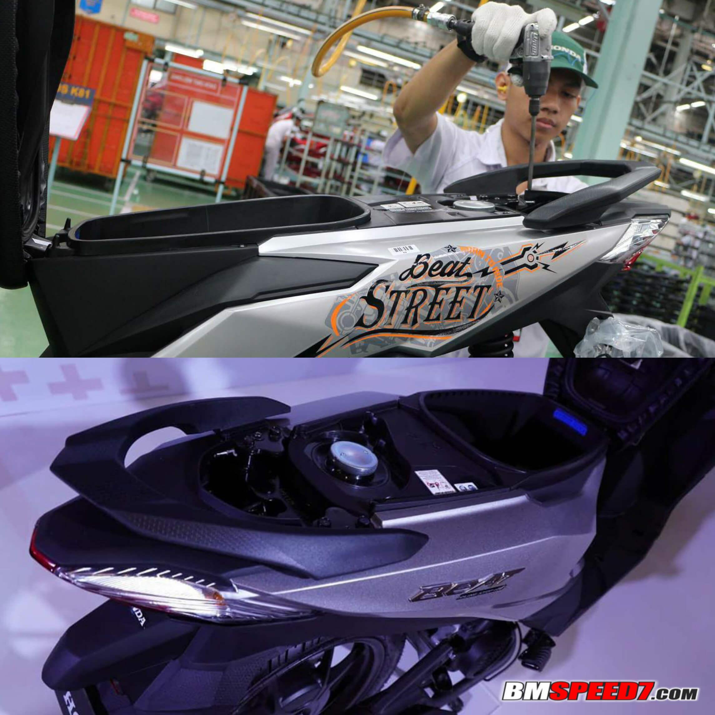 Kapasitas Tangki BBM Honda BeAT