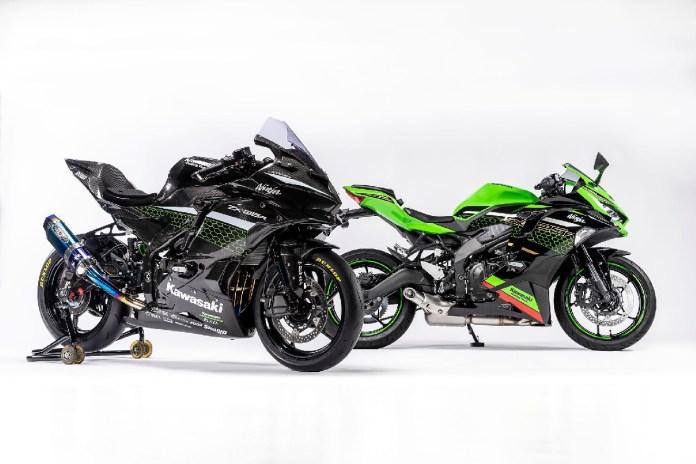 Kawasaki ZX25R Race Spec & Standart