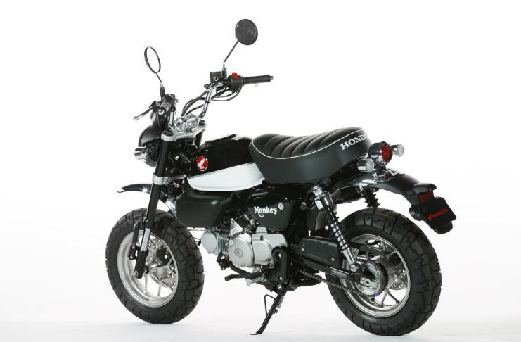 Honda Monkey 125 Pearl Shining Black