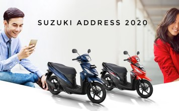 Suzuki Address Tahun 2020