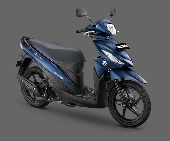 Suzuki Address Predator Matte Blue