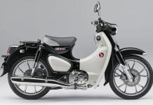 Honda Super CUB C125 Pearl Shining Black