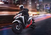 Honda Vario 150 Sporty White Red