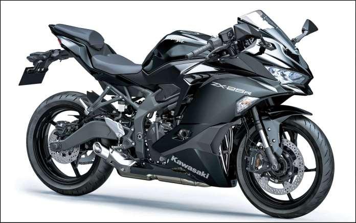Kawasaki ZX25R Metallic Spark Black