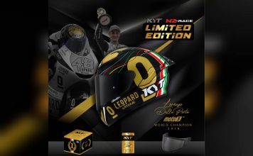 KYT NZ Race Limited Edition Dalla Porta