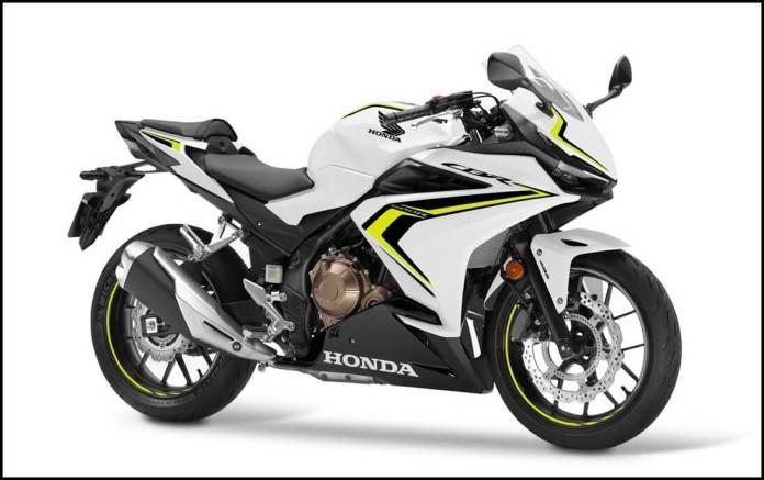 Honda CBR500R 2021 White
