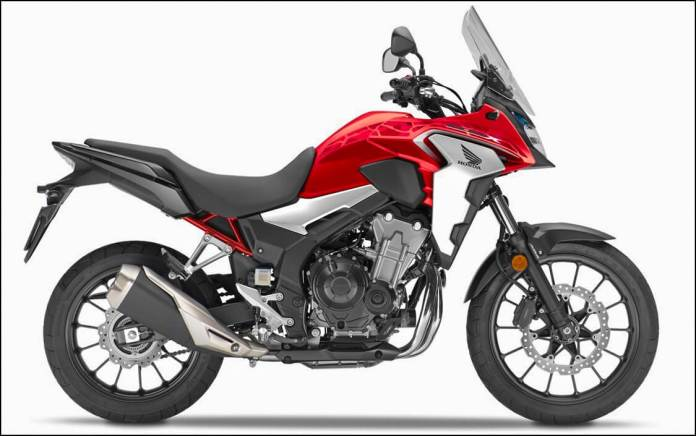 2021 Honda CB500X Grand Pirx Red