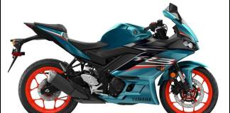 Yamaha R3 2021 Electric Teal