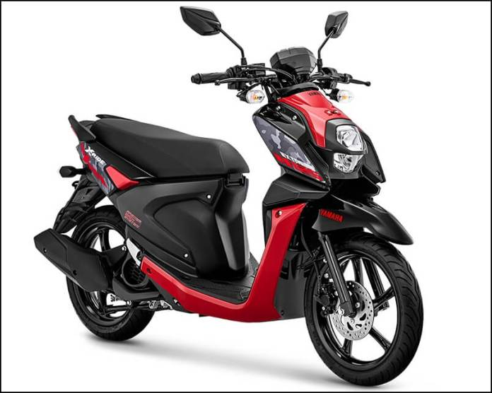 Warna Baru Yamaha XRide 125 2020 Attractive Red