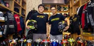 Arai IOM TT series koleksi Riderspot