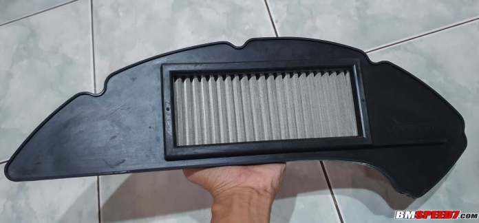 Filter udara Ferrox tampak depan