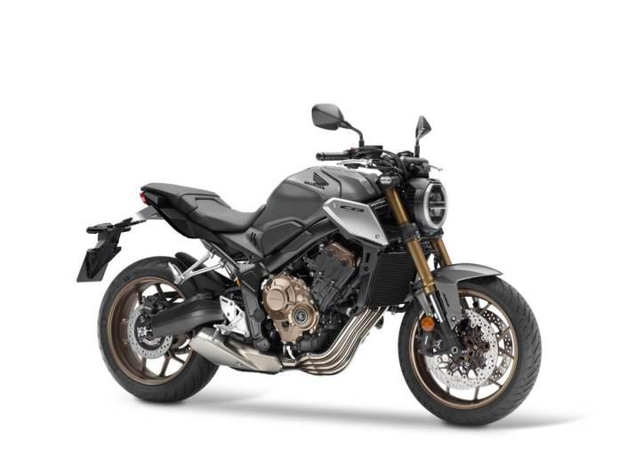 2021 Honda CB650R Pearl Smoky Gray