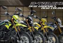 Kawasaki D-Tracker 2021 New Color