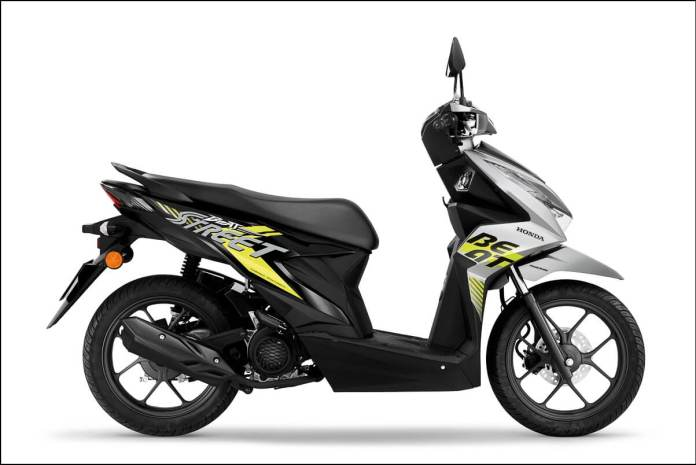 2020 Honda BeAT Malaysia Force Silver Metallic