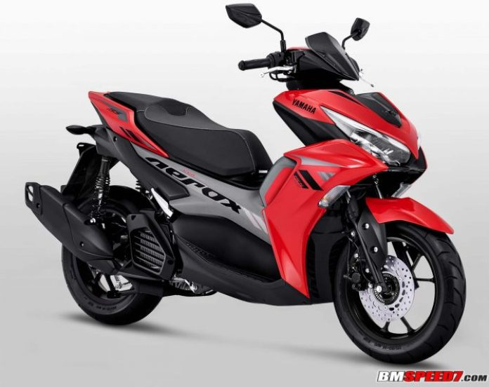 Yamaha Aerox 155 2021 Merah