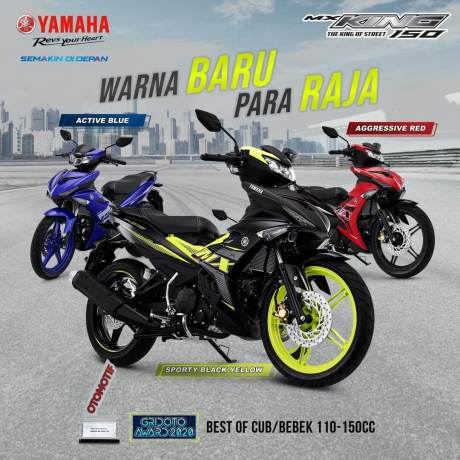 Yamaha MX King 150 2021