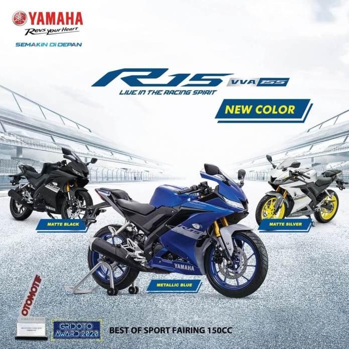 Warna Baru Yamaha R15 V3 2021