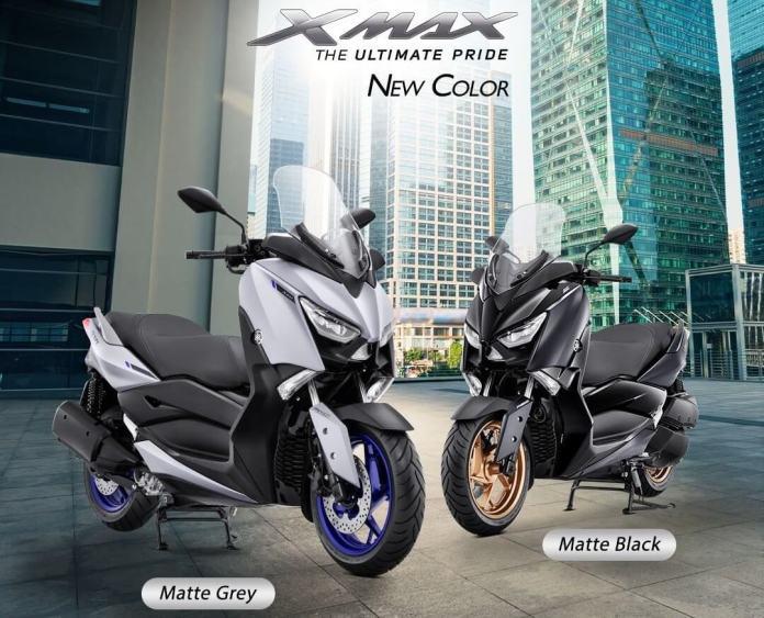 Warna Baru Yamaha XMAX 2021