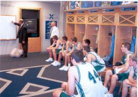 Willie's Team Xavier Locker Room